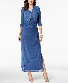 fb598d39 Lauren Ralph Lauren Off-The-Shoulder Fit & Flare Gown - Black 6   Products    Gowns, Fashion, Off the shoulder