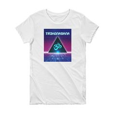 Cosmic Triangle // Women's Short Sleeve T-shirt