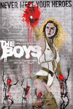 Critique : The Boys – Saison 1 Geeks, Series Gratis, Erin Moriarty, Posters Amazon, Eric Kripke, Movies For Boys, Boys Wallpaper, Karl Urban, Boy Art