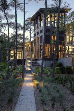 Kiawah Island Residence Designed by Thomas & Dendinger Architects.
