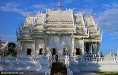 The White Temple in Chiang Rai, #Thailand