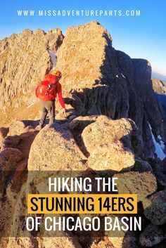 Like the idea of riding a train into the wilderness, backpacking into the high country, and summiting four Then you'll love backpacking Chicago Basin! Here's how to make it happen. Colorado Backpacking, Backpacking Trails, Hiking Trails, Hiking Gear, Hiking Dogs, Winter Hiking, Travel Usa, Travel Tips, The Great Outdoors
