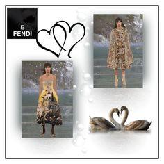 """FENDI"" by gasteovska-t ❤ liked on Polyvore featuring Fendi and polyvoreeditorial"