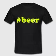 Hashtag Beer Shirt  - Männer T-Shirt
