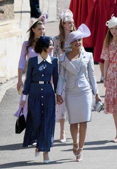 Abigail Spencer In Alessandra Rich – Prince Harry & Meghan Markle's Royal Wedding
