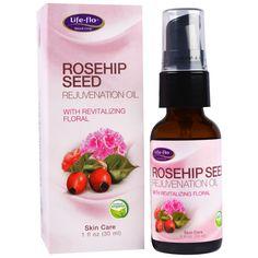 $5 discount code: HLD630 -- Life Flo Health, Rosehip Seed Rejuvenation Oil with Revitalizing Floral. Natural #organic #skincare #dryskin #facialcare #crueltyfree