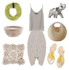 """Untitled #31"" by eva-kikimora ❤ liked on Polyvore featuring Monies and Surya"