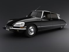 Citroen DS 19 Classic car  Download AZukx Ambient and Trance Music free at www.gesarofling.co.uk
