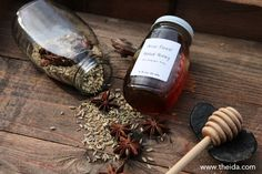 Make your own herbal honey! #aromatherapy #herbalhoney #herbalmedicine #aromaticstudies