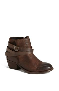 H by Hudson 'Horrigan' Belt Wrapped Bootie - loved the heel height and the look, but too narrow for me