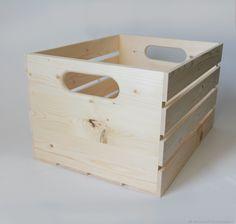 Купить Ящик 26,5-34,5-45 - хранение игрушек, хранение в кухне, заготовка https://vk.com/derevyashki_69