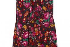 Anna Sui Floral Print Dress
