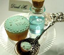 Inspiring picture alice, alice cakes, alice in wonderland, bottle, cake.
