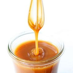 Sauce - Salted Caramel Sauce.  This is my go-to recipe.  I usually only use ten Tbsp of butter and cut the salt to 1 tsp