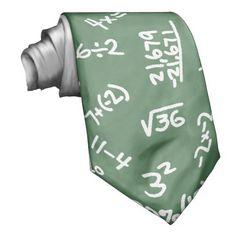 Fun Ties for Teachers Maths Equations Mathematical