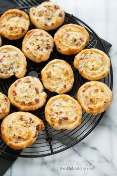 Cheddar and Smoked Summer Sausage Pinwheel Appetizers