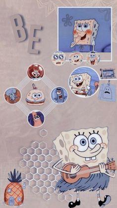 Spongebob Iphone Wallpaper, Phone Wallpaper Boho, Hippie Wallpaper, Iphone Wallpaper Tumblr Aesthetic, Wallpaper Iphone Disney, Cute Disney Wallpaper, Galaxy Wallpaper, Pretty Wallpapers, Cute Cartoon Wallpapers