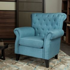 Alcott Hill Adalyn Wingback Chair Upholstery Color: