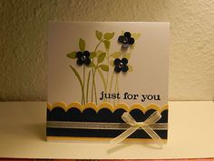 Stampin Up Just for you 3X3 Card Kit.