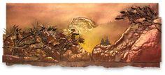 Half Dome Half Dome, Moose Art, Tapestry, Decor, Hanging Tapestry, Tapestries, Decoration, Decorating, Needlepoint