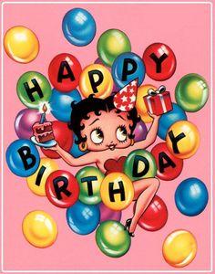 ┌iiiii┐ Happy Birthday Betty Boop Birthday to kala. Birthday Blessings, Birthday Wishes Quotes, Happy Birthday Messages, Happy Birthday Images, Happy Birthday Greetings, Birthday Pictures, It's Your Birthday, Funny Birthday, Happy Birthday Betty Boop