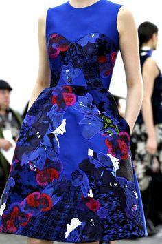Winter florals and prints - autumn/winter 2012-13 trend (Vogue.com UK)