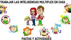 Inteligencias múltiples EN FAMILIA Conjunto de Actividades para trabajar en casa con nuestros hijos e hijas