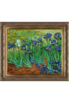 Vincent Van Gogh Irises Oil on Canvas.