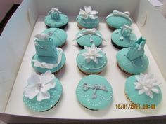Tifanny & Co Cupcakes