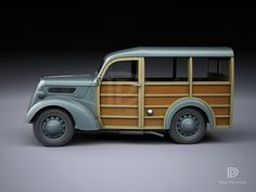 A Garagem Digital de Dan Palatnik | The Digital Garage Project: 1950 Phantom Ford Woody Shooting Brake