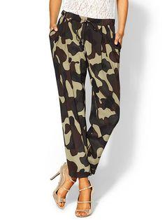kinda like these silk camo pants