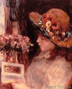 Pierre Auguste Renoir - Jeune fille lisant
