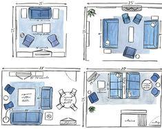 Progettare il soggiorno: scegliere il divano