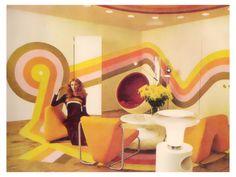1970s Living Room.