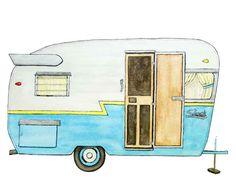 camper-watercolor