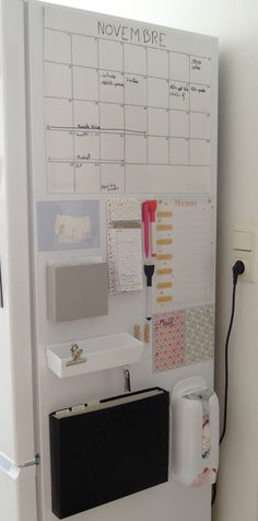 61 ideas organization tips for school diy organisation Organization Station, Organisation Hacks, Kitchen Organization, Diy Placards, Diy Pour La Rentrée, Diy Cupboards, Pantry Cabinets, Diy Back To School, School School