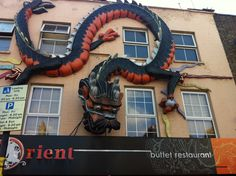Dimensional Signs #dragon #restaurant