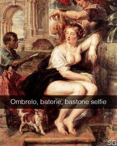 Bathsheba at the Fountain - Peter Paul Rubens (1635) _____________ Raghi mi aiutate con le votazioni per i #wsa2015? Potete votarmi attraverso il link in bio e c'è scritto tutto due post prima di questo. GRAZIE! #seiquadripotesseroparlare #StefanoGuerrera