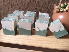 Sabonete natural de argila branca e argila verde