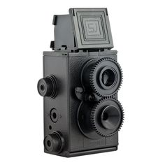 Recesky 35mm TLR - This camera was one that was shown to me by a good friend and I decided to buy it. It is a DIY build your own TLR.