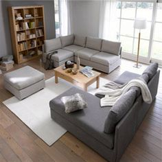 1000 ideas about canap modulable on pinterest couch muuto and benches - Canape microfibre taupe ...