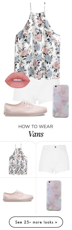 """spring pastels"" by hey-there-its-kylah on Polyvore featuring River Island and Vans"