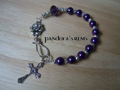 Etsy  Rosary Bracelet