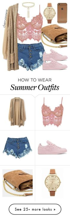 Summer Outfits : Hipster summer outfit by cherrysnoww on Polyvore featuring WithChic adidas M