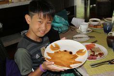 Shangri-La Villingili crab pancake Pancake Art, Shangri La, Maldives, Pancakes, Breakfast, Food, The Maldives, Morning Coffee, Essen