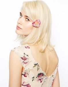 Discover hair accessories with ASOS. From beaded headbands to hair clippers and hair bows, our range of hair accessories has something for every occasion. Wedding Accessories, Hair Accessories, Rose Hair Clip, Cut Out Swimsuits, Small Rose, Occasion Wear, Latest Fashion Clothes, Hair Bows, Hair Clips