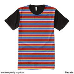 bert and ernie halloween striped costume shirt for ernie