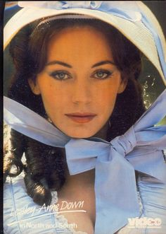 "Lesley-Anne Down as Madeline Fabray in the mini-series, ""North and South"""