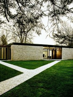 Hodgson house, New canaan, Philip Johnson