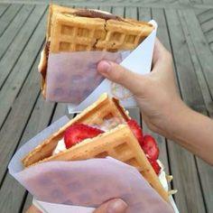 waffel sandwhich